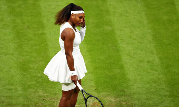 Wimbledon: Αποχώρησε με τραυματισμό η Σερένα Γουίλιαμς