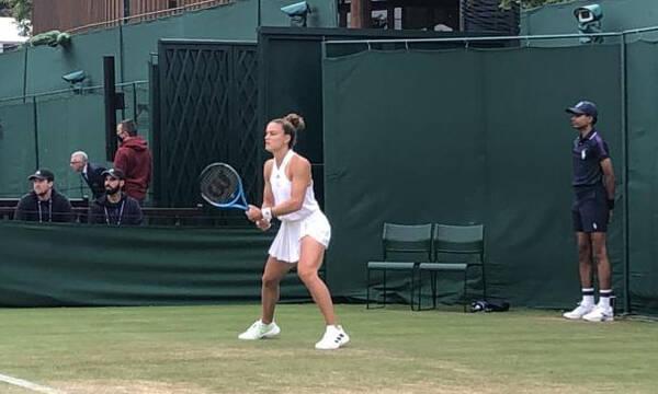 Wimbledon - Μαρία Σάκκαρη: Διακοπή λόγω σκότους - Πέμπτη (1/7) η συνέχεια με Ρότζερς