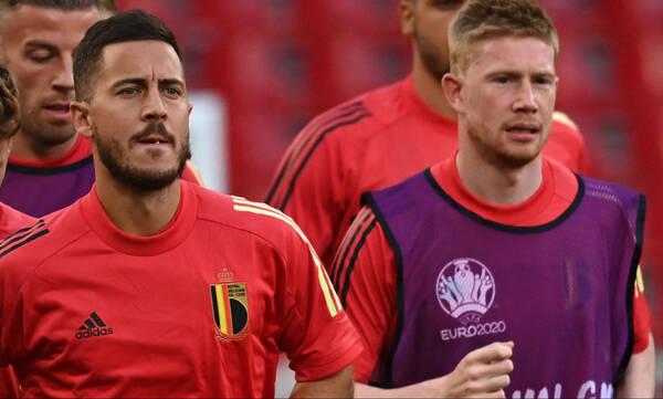 Euro 2020: «Τρέχουν» για Ιταλία Αζάρ και Ντε Μπρόινε