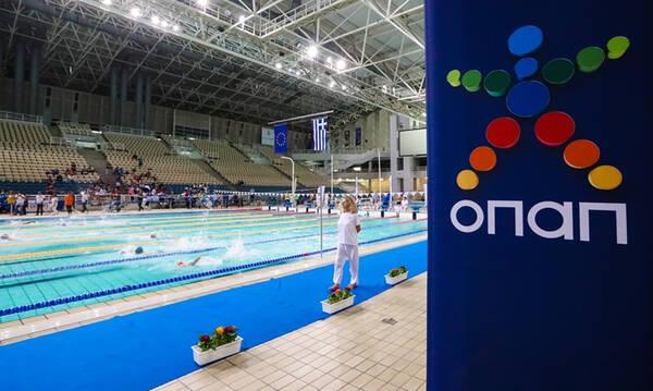 Με τη συμμετοχή 184 αθλητών και αθλητριών το Πανελλήνιο πρωτάθλημα κολύμβησης ΟΠΑΠ 2021 στο ΟΑΚΑ