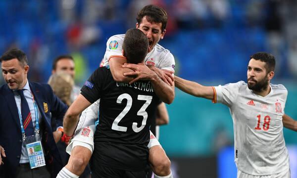 Euro 2020: Ελβετία-Ισπανία 1-3 (πέν., 1-1 κ.α.)