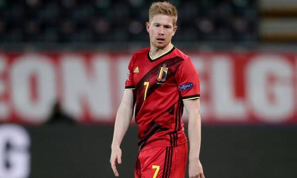 Euro 2020: Συγκλονίζει ο Ντε Μπρόινε - Αγωνίστηκε με... διαλυμένους συνδέσμους (photos)