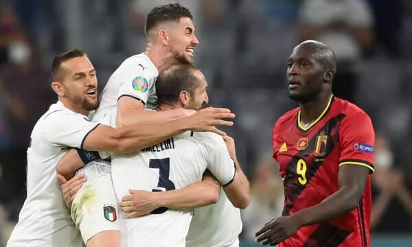 Euro 2020: Παλαβοί Ιταλοί - Έμειναν με... τα εσώρουχα μετά την πρόκριση (photos)