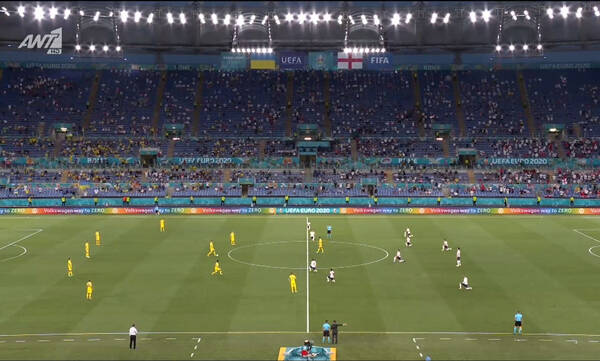 Euro 2020: Δεν γονάτισαν οι Ουκρανοί πριν από τη σέντρα (video)