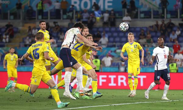 Euro 2020: Ουκρανία-Αγγλία 0-4
