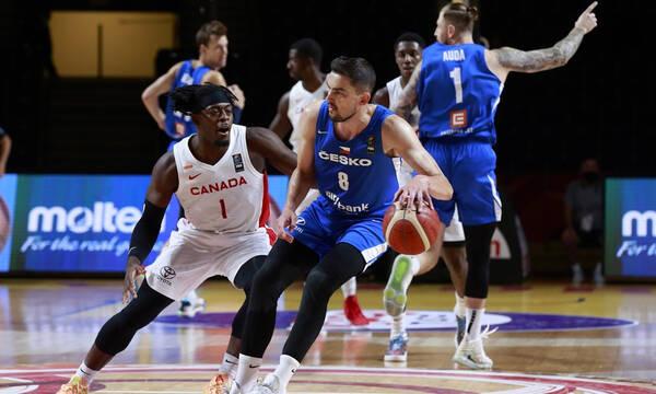 Προολυμπιακό τουρνουά: Την έκπληξη με υπογραφή Σατοράνσκι η Τσεχία - Πέταξε εκτός τελικού τον Καναδά