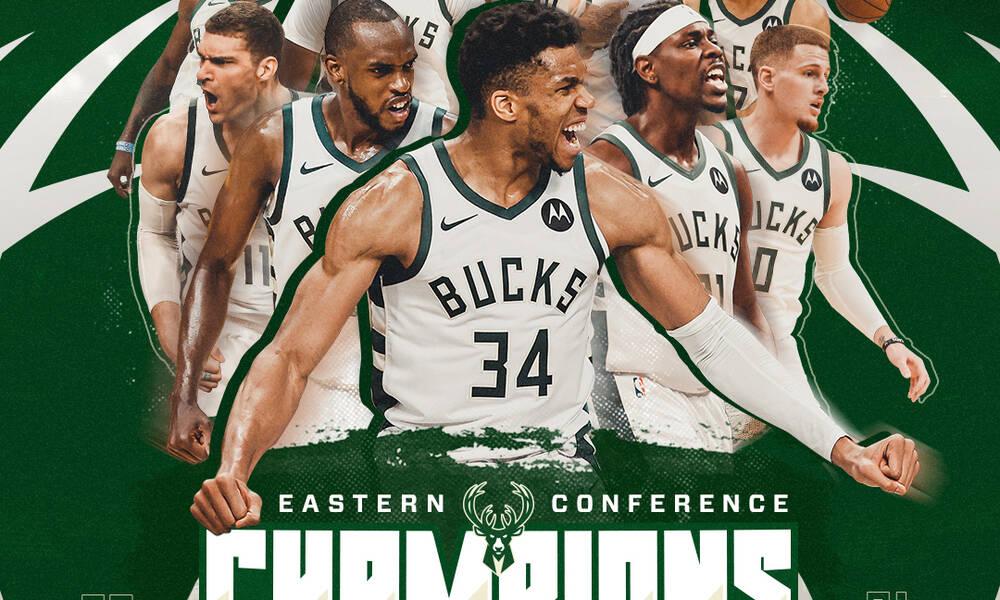 NBA: Πρωταθλητές στην Ανατολή οι  Μπακς - Έκαναν ιστορικό comeback στους τελικούς μετά από 47 χρόνια
