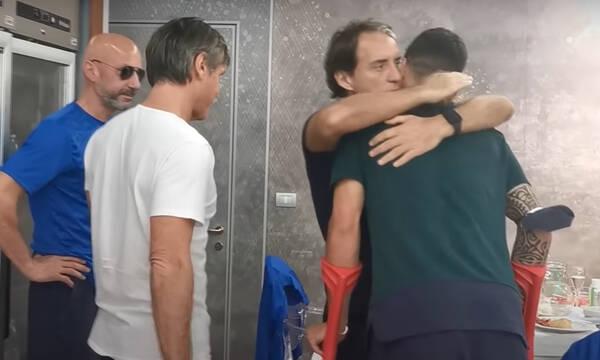 Euro 2020: Συγκίνηση στην Ιταλία στο αντίο του Σπινατσόλα! (Video+Photos)