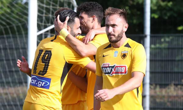 AEK: Νίκη με ντεμπούτο του Τζαβέλλα (videos+photos)