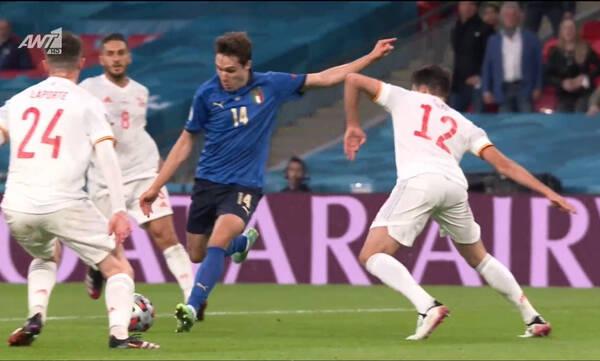 Euro 2020: Ο Κιέζα άνοιξε το σκορ, απάντησε ο Μοράτα (videos)