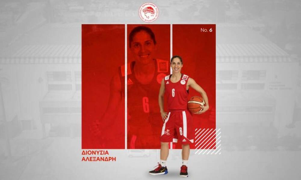 Μπάσκετ γυναικών: Ανανέωσαν στον Ολυμπιακό οι Νικολοπούλου, Αλεξανδρή και Παντελή