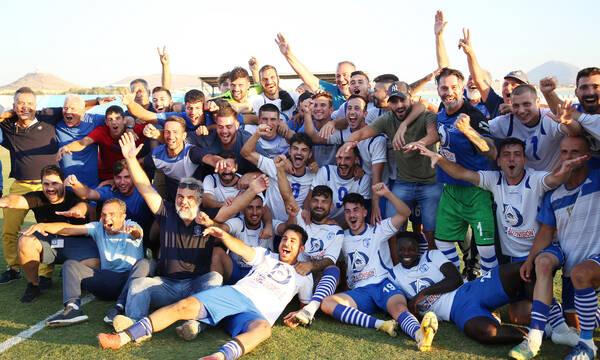 Γ' Εθνική – Μπαράζ: Κρητικό γλέντι για την άνοδο του Ηρόδοτου στη Super League 2