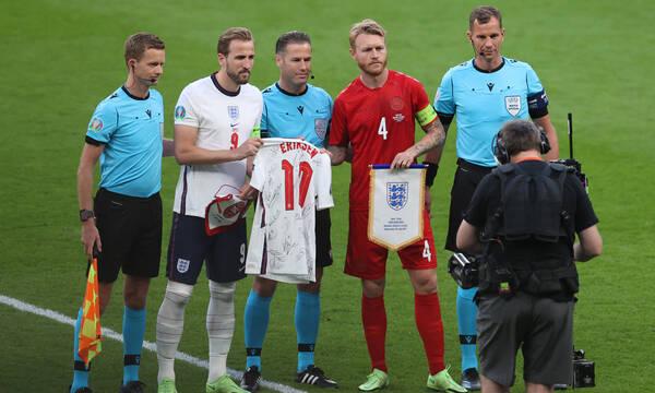 Euro 2020 - Αγγλία-Δανία: Τίμησαν τον μεγάλο «νικητή» Έρικσεν
