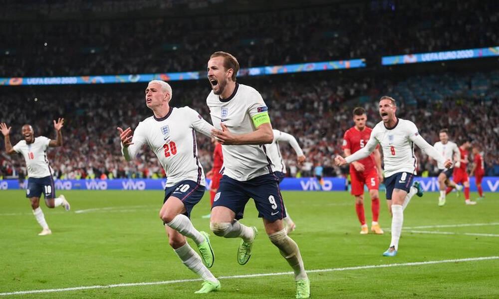Euro 2020: Αγγλία-Δανία 2-1 παρ. (1-1 κ.α.)