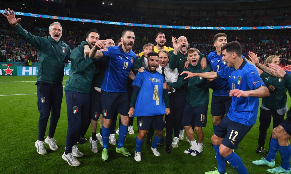 Euro 2020: Μόνο 7.500 οπαδοί της Ιταλίας στο Γουέμπλεϊ στον τελικό με την Αγγλία! (photos) - Onsports.gr