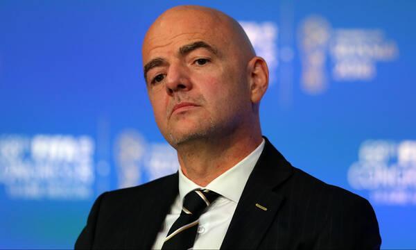 Πρόεδρος «αστραπή» ο Ινφαντίνο - Θα δώσει το παρών στους τελικούς Copa America και Euro