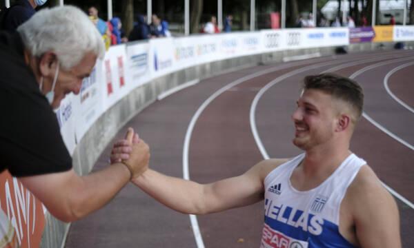 Ευρωπαϊκό Πρωτάθλημα Κ23: Ασημένιο μετάλλιο ο Φραντζεσκάκης στη σφυροβολία (video)