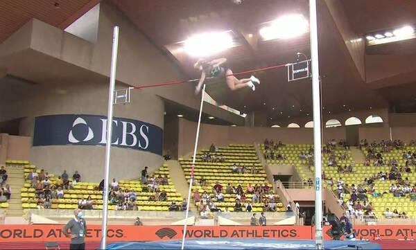 Diamond League - Μονακό: Πέρασε τα 4.80 μ. η Στεφανίδη (video)