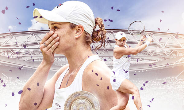 Wimbledon: Θρίαμβος της Μπάρτι στον τελικό