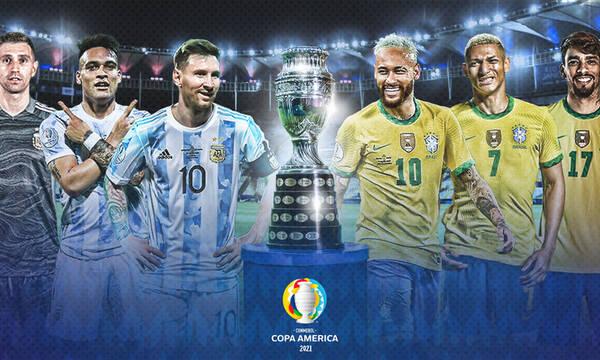 Copa America: Μνημείο με το ολόγραμμα του Μέσι και προσευχή για την κούπα! (photos)