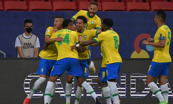 Copa America: Τα καλύτερα γκολ της Βραζιλίας (video)