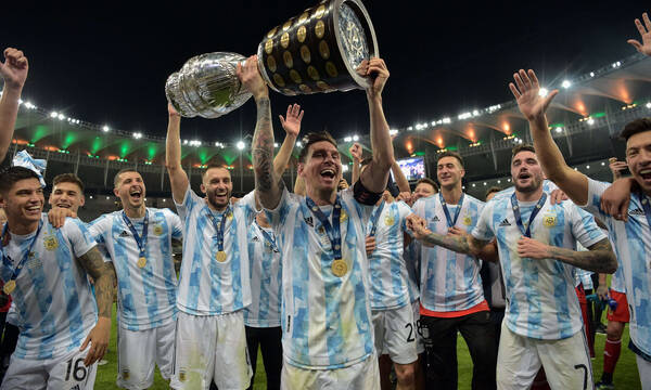 Copa America: Το σήκωσε η Αργεντινή μέσα στο Ρίο! (Videos+Photos)