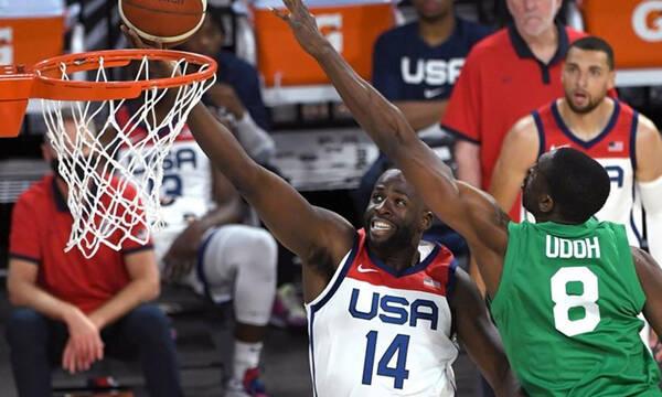 Πρεμιέρα με το «αριστερό» για την Team USA - Την σόκαρε η Νιγηρία