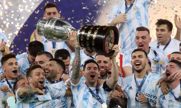 Copa America: Τρέλα στην Ινδία για την κούπα της Αργεντινής (video+photos)