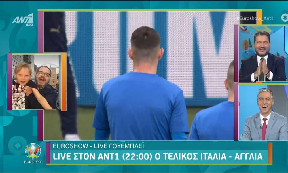 Euro 2020: Ντου Άγγλων οπαδών σε Έλληνα ανταποκριτή (video)