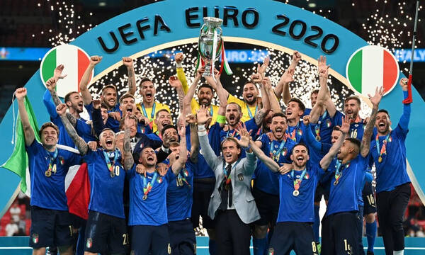 Euro 2020: Τελικός Ιταλία-Αγγλία 3-2 πεν. (1-1 κ.α. και παρ.)