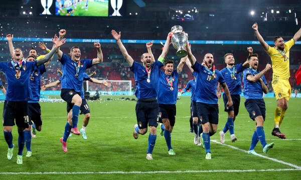 Euro 2020: Έκσταση στα Ιταλικά ΜΜΕ - «Η Ευρώπη είμαστε εμείς» (photos)