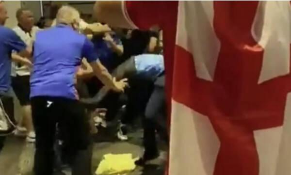 Euro 2020: «Κόλαση» στο Λονδίνο - 49 συλλήψεις και 19 αστυνομικοί τραυματίες