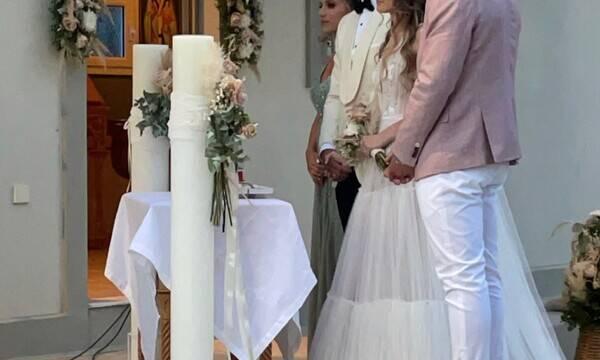 Παντρεύτηκε γνωστός Έλληνας μπασκετμπολίστας– Οι πρώτες φωτό από το μυστήριο