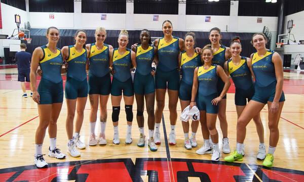 Με εμφανίσεις… μαγιό η εθνική μπάσκετ γυναικών της Αυστραλίας (pics)