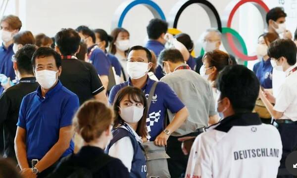 Ολυμπιακοί Αγώνες: Χτυπάνε καμπανάκια – Ρεκόρ κρουσμάτων στο Τόκιο (photos)