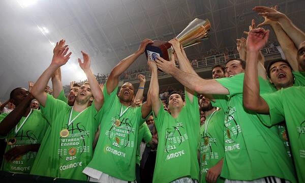 Παναθηναϊκός: Αποσύρθηκε Πρωταθλητής Ευρώπης του 2011 (photos)
