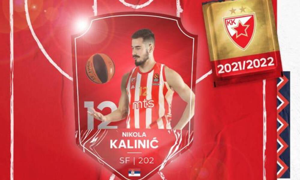 Ερυθρός Αστέρας: Και επίσημα Κάλινιτς για δυο χρόνια!