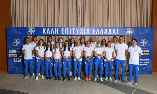 Ολυμπιακοί Αγώνες: Η ελληνική ολυμπιακή ομάδα στίβου αναχωρεί για το Μισάτο