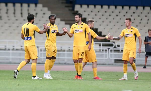 ΑΕΚ-Απόλλων Λεμεσού 3-0: Έτοιμη για Ευρώπη με Λιβάι η Ένωση (photos+video)