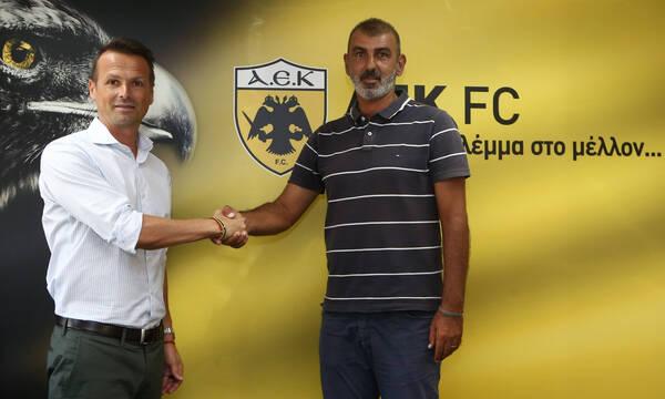 ΑΕΚ: Οφρυδόπουλος ο εκλεκτός για την ΑΕΚ Β