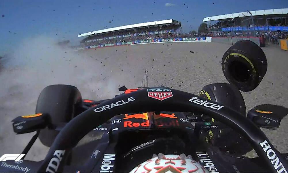 Formula 1: Τρομακτικό ατύχημα με Φερστάπεν και Χάμιλτον - Διακοπή στον αγώνα (vid)