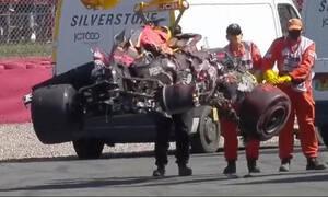 Formula 1: Τιμωρία στον Χάμιλτον για το τρομακτικό ατύχημα με τον Φερστάπεν (video+photos)