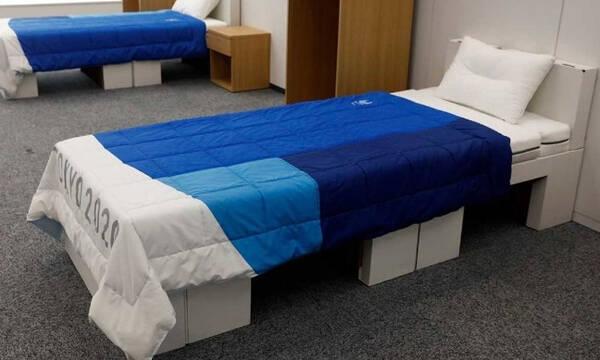Ολυμπιακοί Αγώνες: Τα χάρτινα κρεβάτια για αποφυγή… ερωτικών περιπτύξεων (video)