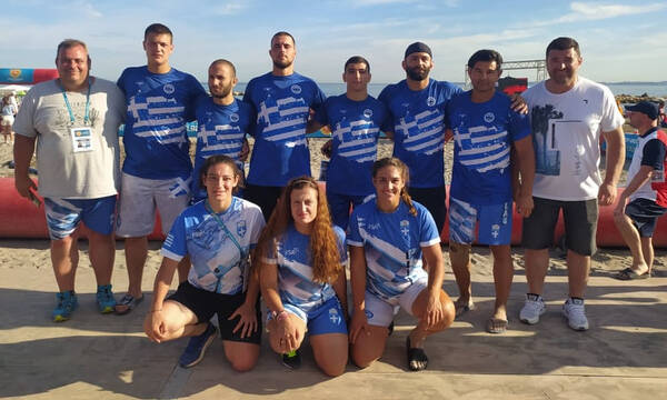 Beach Wrestling: 4η στη Γαλλία η Στεφανία Ζαχείλα
