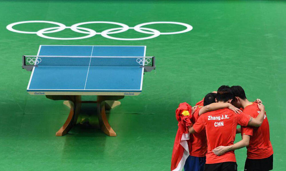 Ολυμπιακοί Αγώνες: Διαμαρτυρίες των Κινέζων του πινγκ πονγκ