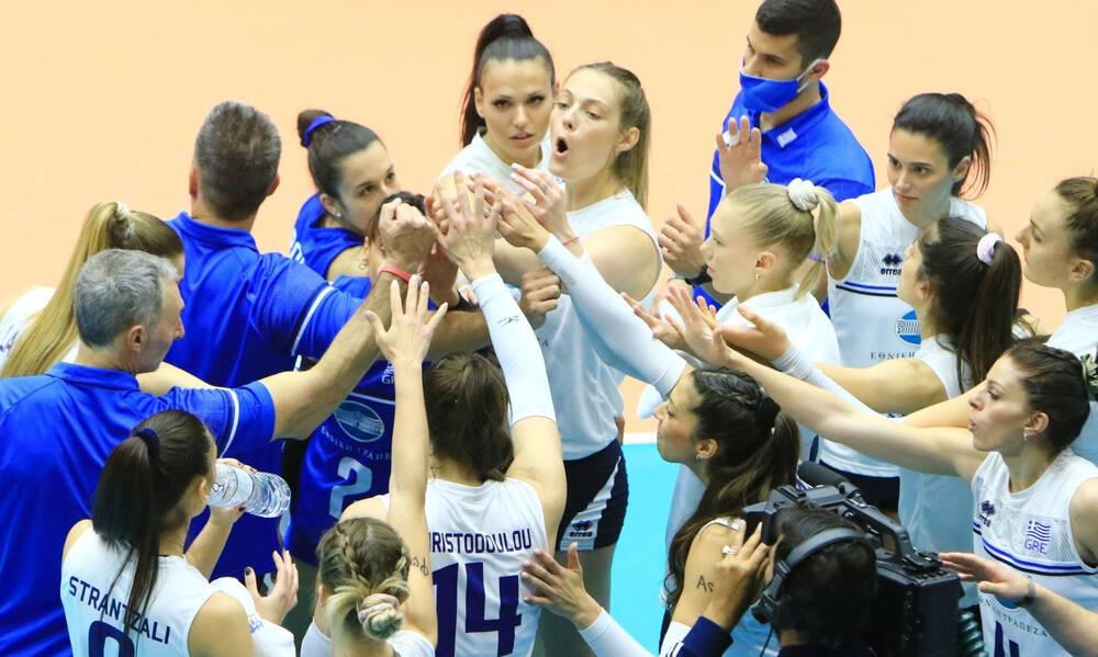 Βόλεϊ: Τα φιλικά της Εθνικής γυναικών ενόψει του Ευρωπαϊκού πρωταθλήματος