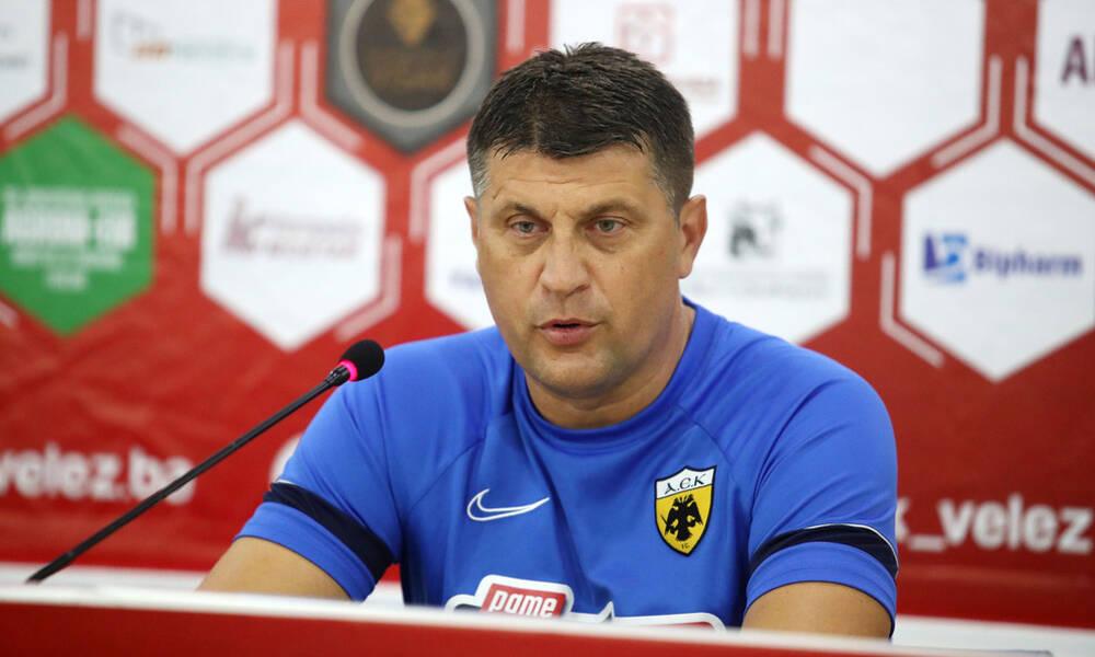 Μιλόγεβιτς: «Ξέρουμε τι πρέπει να περιμένουμε από την ΑΕΚ» (photos+video)