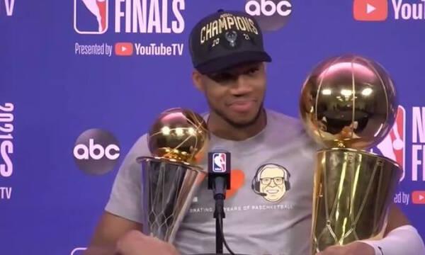 NBA mini movie: Η ιστορική νίκη των Μπακς με πρωταγωνιστή τον Greek Freak (video)