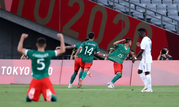 Ολυμπιακοί Αγώνες: Το Μεξικό ισοπέδωσε τη Γαλλία με τεσσάρα!