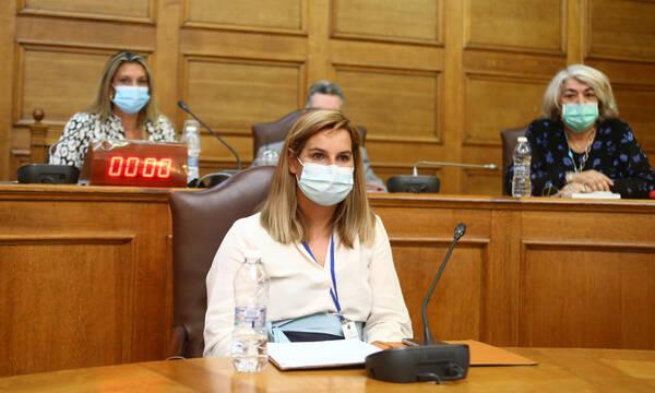 Σοφία Μπεκατώρου: «Δεν έκανα καμία νέα καταγγελία για σεξουαλική παρενόχληση»